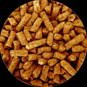 Photo de granulés de bois
